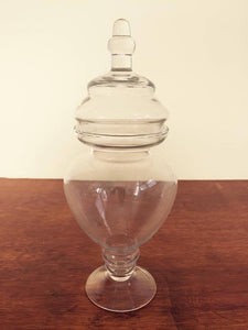Lolly jar round with lid - 40cm