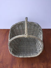 Load image into Gallery viewer, Cane basket with handle