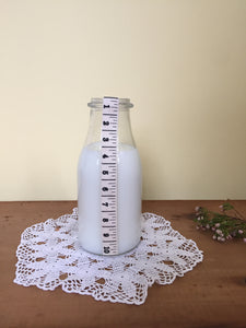 Milk drinking jar - 10cm