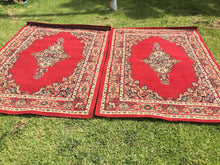 Load image into Gallery viewer, Red rugs large - 160cm x 225cm