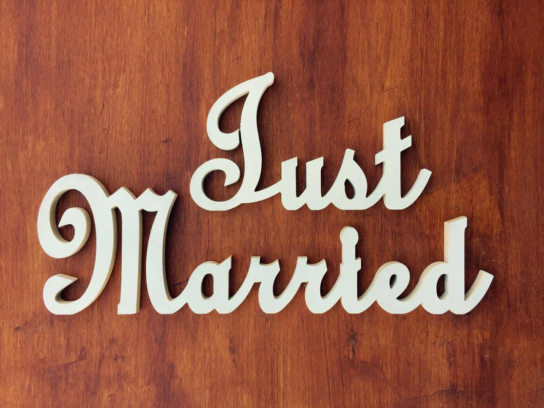Just married - timber