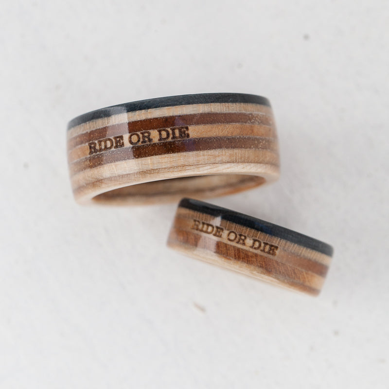 Custom Engraving on rings - BoardThing