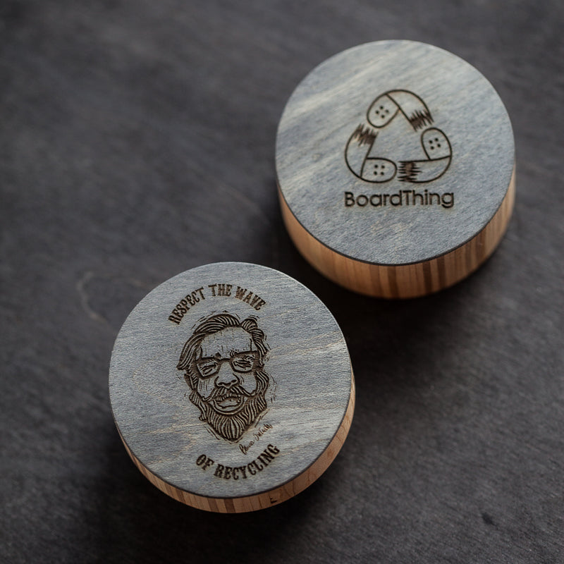Skateboard herb grinder (classic version) | Boardthing - BoardThing