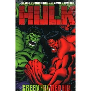 Hulk Vol 2: Red & Green Premiere Hc - Cho Cover