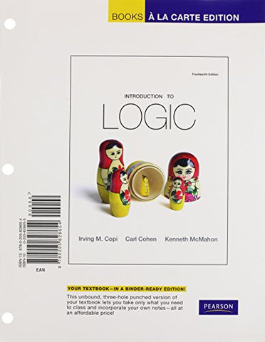 Introduction To Logic: Pearson New International Edition