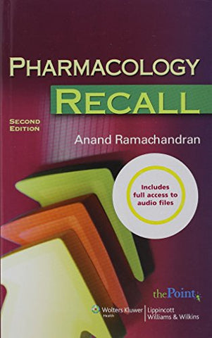 Pharmacology Recall, 2Nd Edition