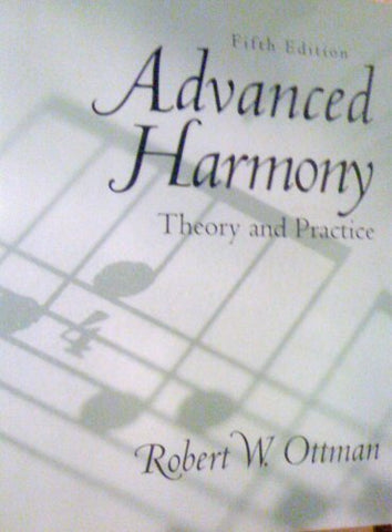 Advanced Harmony: Theory And Practice (5Th Edition)