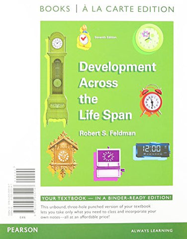 Development Across Life Span, Books A La Carte Plus New Mypsychlab With Etext - Access Card Package (7Th Edition)