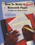 How To Write A Great Research Paper: A Step-By-Step Guide (Kids' Stuff)