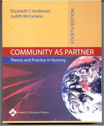 Community As Partner: Theory And Practice (Anderson, Community As Partner)