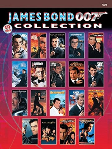 James Bond 007 Collection: Flute, Book & Cd