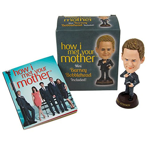 How I Met Your Mother Mini Kit: Mini Barney Bobblehead Included!