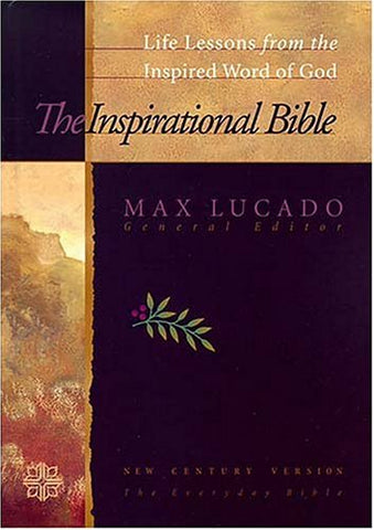 Inspirational Study Bible: Life Lessons From The Inspired Word Of God