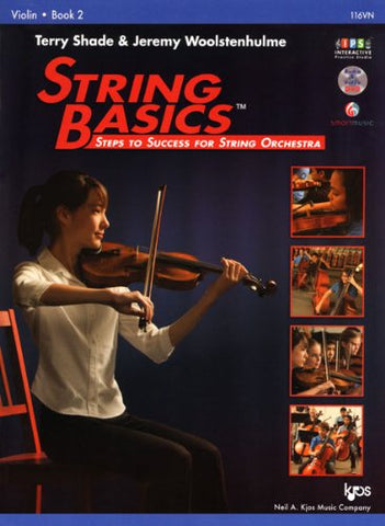 116Vn - String Basics Book 2 - Violin