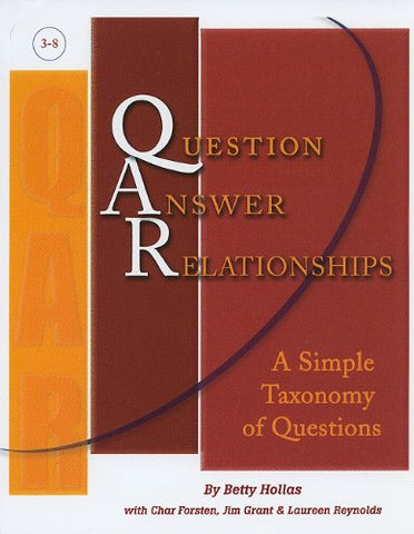 Question Answer Relationships: A Simple Taxonomy Of Questions