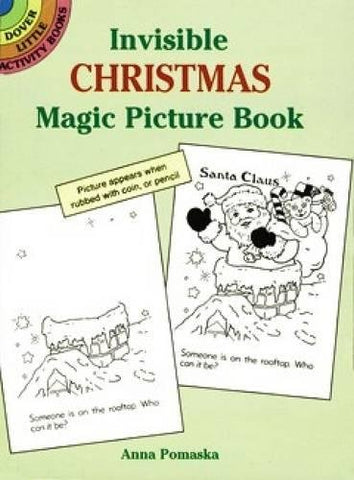 Invisible Christmas Magic Picture Book (Dover Little Activity Books)