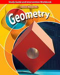 Geometry, Study Guide And Intervention Workbook (Merrill Geometry)