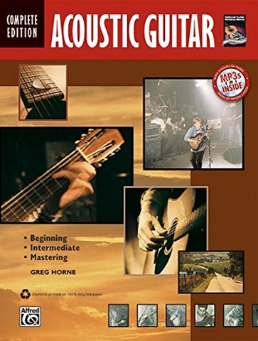 Complete Acoustic Guitar Method Complete Edition: Book & Cd (Complete Method)