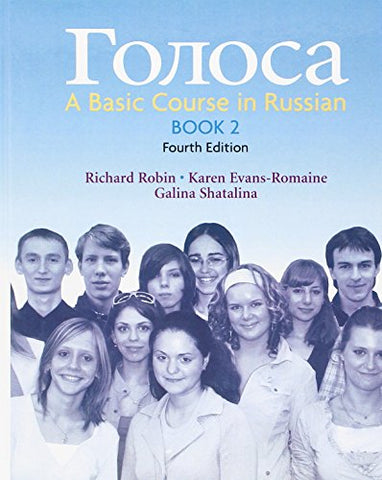 Golosa, Book 2: A Basic Course In Russian Plus Student Activities Manual (4Th Edition)