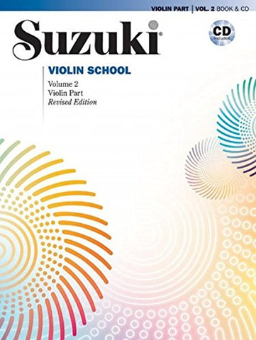 Suzuki Violin School, Vol 2: Violin Part, Book & Cd