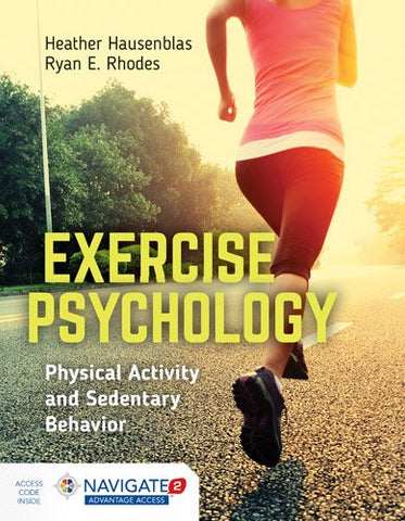 Exercise Psychology: Physical Activity And Sedentary Behavior