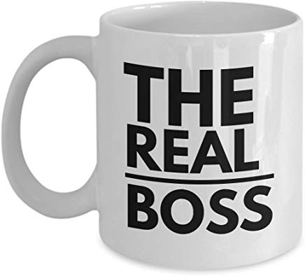 Administrator Present Mug 11 Oz - The Real Boss