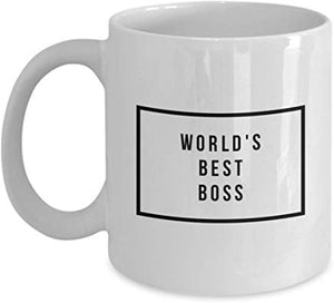 Administrator Coffee Mug 11 Oz - World'S Best Boss