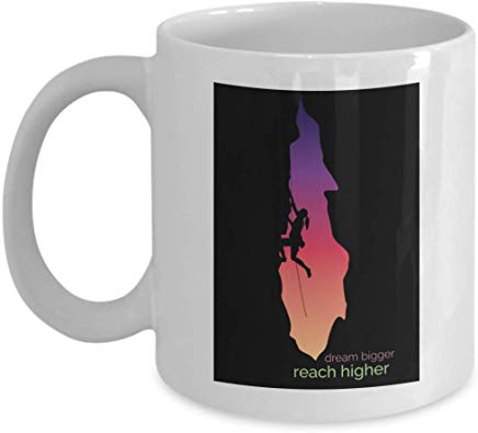 Adventure Gift Mug 11 Oz - Dream Bigger Reach Higher