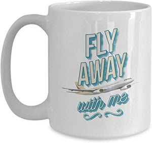 Adventure Mug 15 Oz - Fly Away With Me