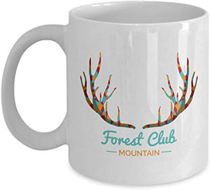 Adventure Coffee Mug 11 Oz - Forest Club Mountain