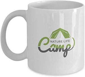 Adventure Gift Mug 11 Oz - Nature Life Camp