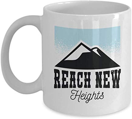 Adventure Coffee Mug 11 Oz - Beach New Heights