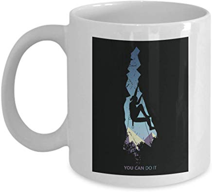 Adventure Coffee Mug 11 Oz - You Can Do It