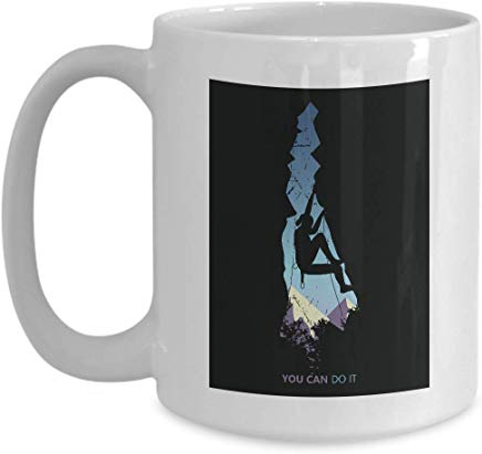 Adventure Mug 15 Oz - You Can Do It