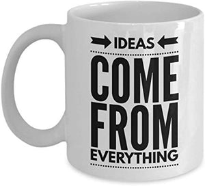 Alfred Hitchcock Mug 11 oz - - Ideas - come from everything