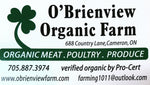 Local Organic Ground Beef 1.25lb package