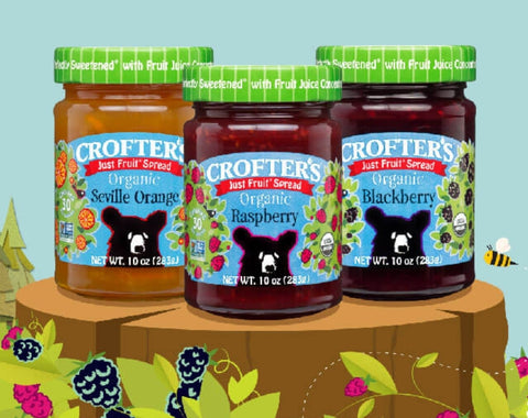 Crofters Just Fruit Blueberry Spread