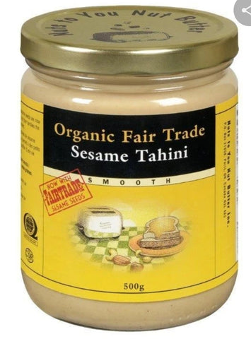 Organic Fair Trade Sesame Tahini