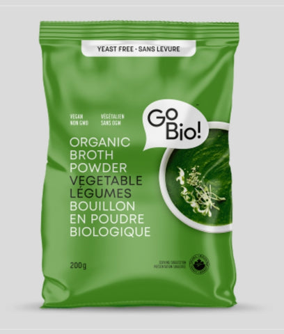 Go Bio! Organic Broth Powder Vegetable 100g