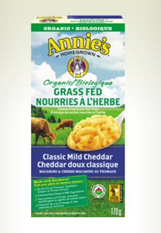 Annie's Organic Grass Fed Macaroni & Cheese