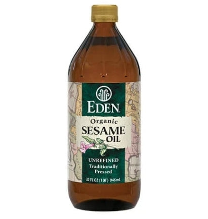Eden Organic Sesame Oil 473ml