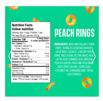 Smart Sweets - Peach Rings no sugar added candy