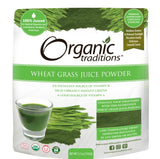 Organic Traditions Wheat Grass Juice Powder