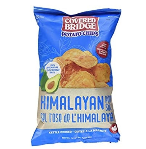 Covered Bridge Potato Chips Himalayan Pink Salt and Avacado Oil