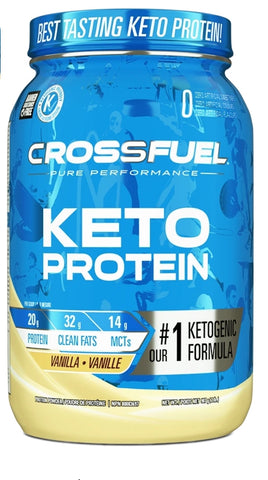 Crossfuel 100% Clean Keto Protein