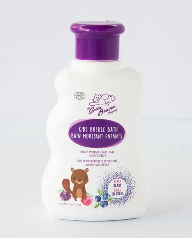 Green Beaver Boreal Berries Kids Bubble Bath