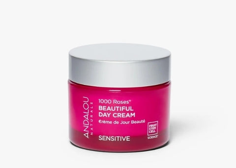 Andalou Naturals 1000 Sensitive Roses Beautiful Day Cream