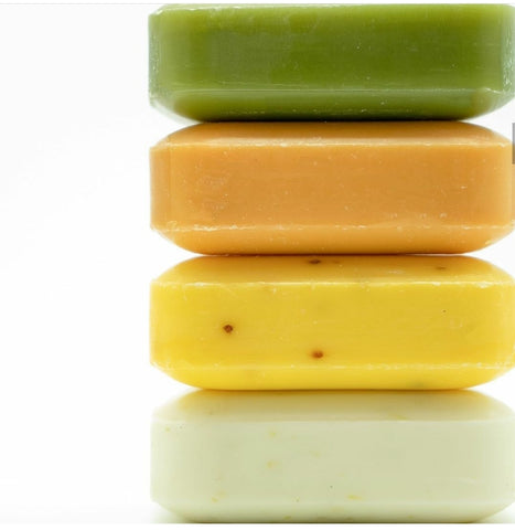 The Soap Works Shampoo/Conditioner Soap Bar