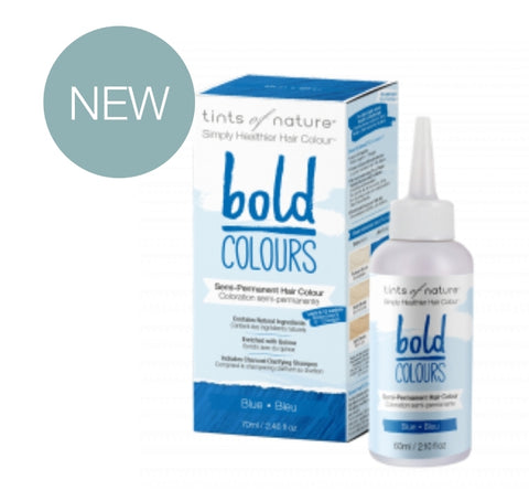 Bold Colours Semi-permanent Natural Hair Colour - Blue