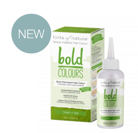 Bold Colours Semi-permanent Natural Hair Colour - Green